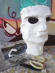Maske Kunstwoche 2020