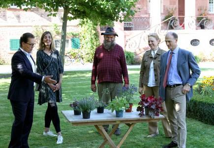 Bürgermeister Jan Werner bei der PK zum Fürstlichen Gartenfest 2021