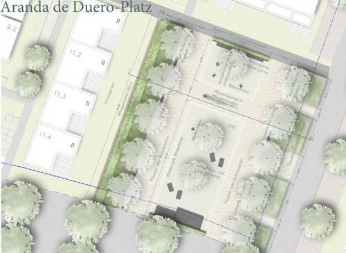 Aranda-de-Duero-Platz