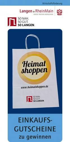 Cover Flyer Heimat shoppen