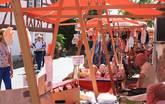 Feiern babbeln und trinken - Ebbelwoifest Bachgassenmarkt