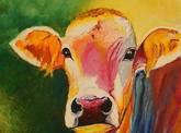 vhs-Ausstellung Bunte Kuh