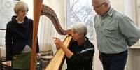 Instrumente ausprobieren am Vormittag