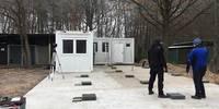 Strandbad-Container fuer Personal und Sicherheit 2
