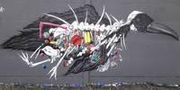 Graffiti-Aktion Bahnunterführung - Graffiti 1