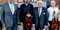 Musikschule wurde reich beschenkt - Joseph Ackermann