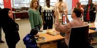 Büchereiausweise für Flüchtlinge