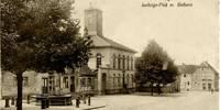 Langen schwarz-weiß - Altes Rathaus