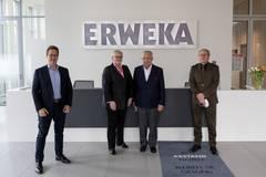 Besuch Erweka