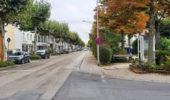 Ehemaliger Radweg Bahnstraße