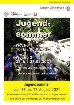 Plakat Jugendsommer 2021