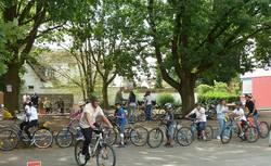 Mit dem Fahrrad sicher zur Schule 1