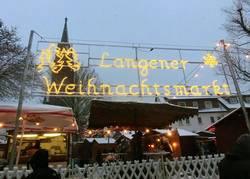 Lebendiger Adventskalender - Weihnachtsmarkt 1