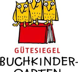 Kita Unterm Regenbogen - Leseförderung - Logo
