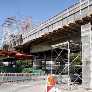 Brückensanierung September 2019