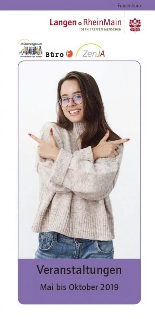 Programm Frauenbüro Mai - Oktober 2019 - Cover