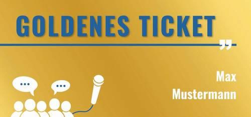 Jugendforum Goldenes Ticket