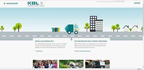 KBL-Homepage