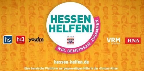 Hessen helfen: Hessenweite Plattform für Hilfsangebote