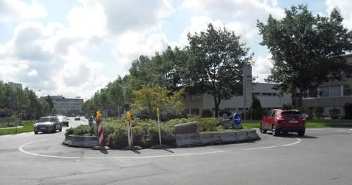 Stadt bringt Kreisverkehr auf Vordermann