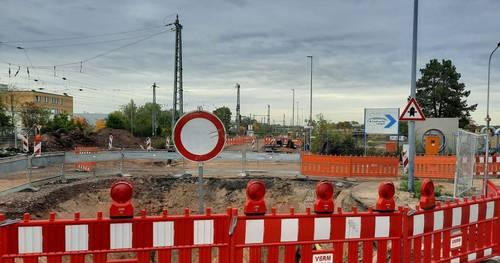 Baustelle Liebigstraße