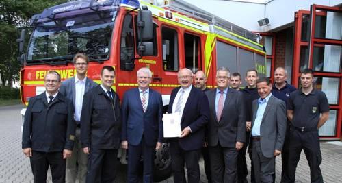 Finanzspritze für die Feuerwehr