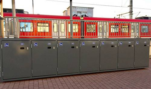 Neue Radboxen am Bahnhof