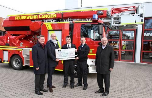 Lions Club unterstützt Feuerwehr-Nachwuchs