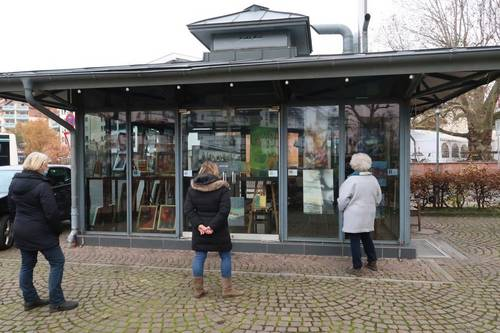 Zeitgalerie Glaspavillon Bahnhof