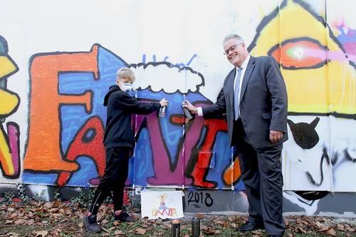 Herbstferienspass Graffiti Juz