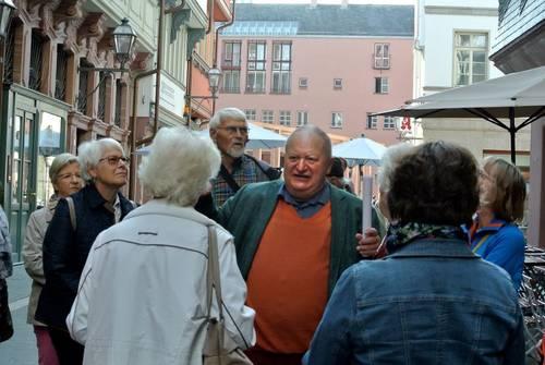 Führung Gerd Grein neue Frankfurter Altstadt