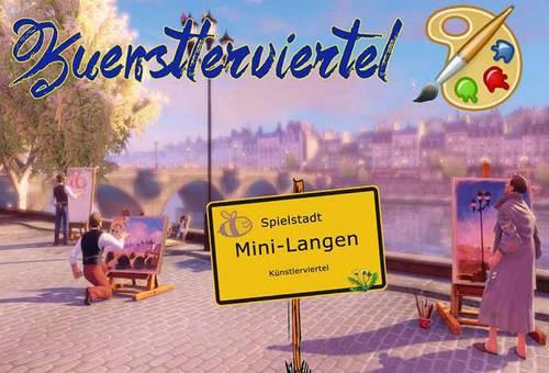 Mini Langen - Kunstwoche