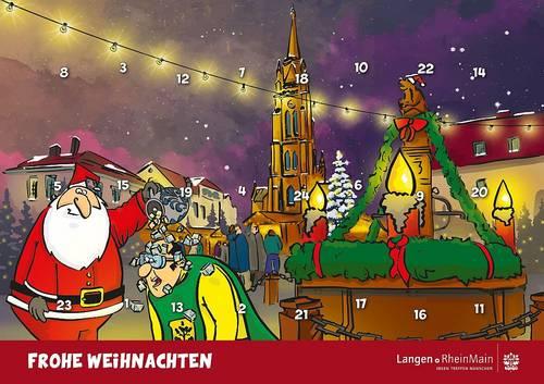 Schmunzeln bis zum Weihnachtsfest - Adventskalender