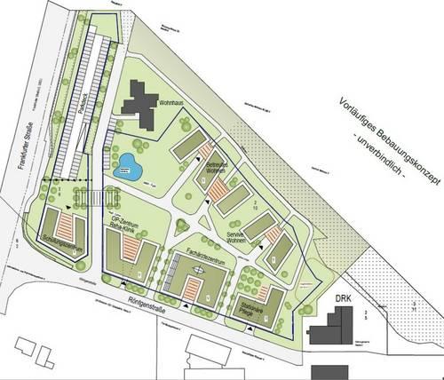 Entwurf Klinikum Langen Nord