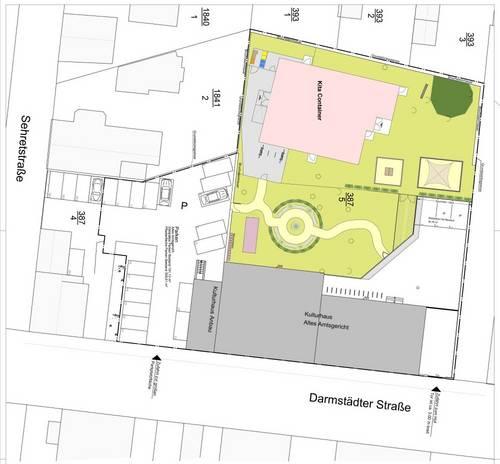 Kita Kulturhaus Plan