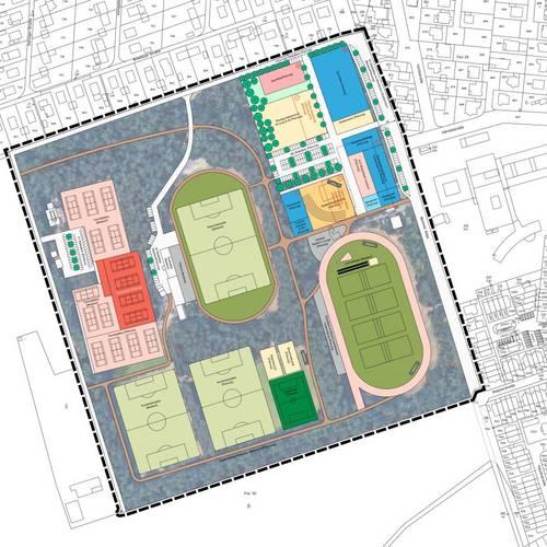 Planung Sportpark Oberlinden