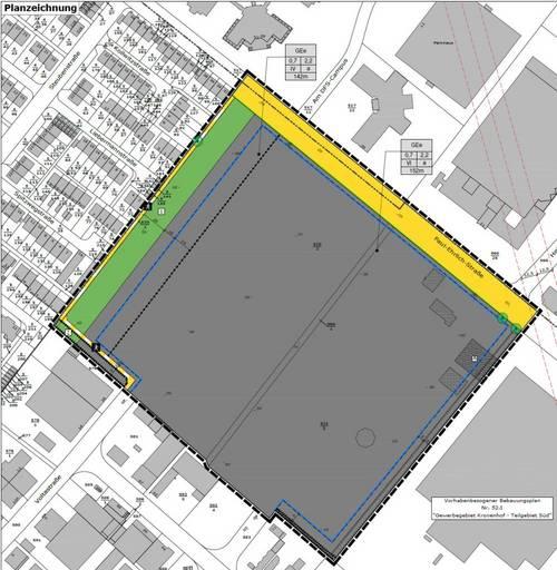 Planentwurf Kronenhof Nord - PEI