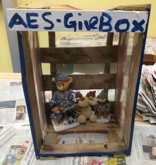 Givebox Teilen und Schenken in der Nachbarschaft