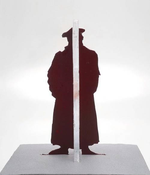 Kunst vor Ort - Stahl-Skulptur