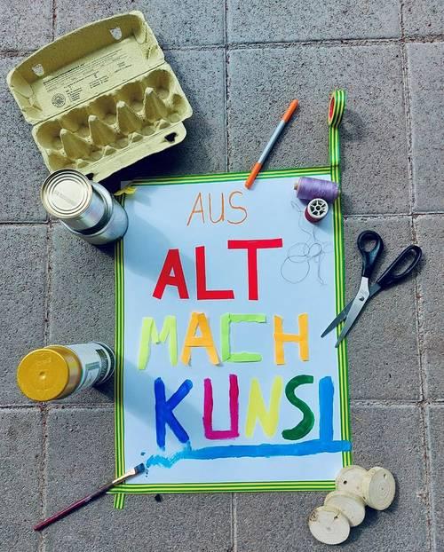 Kunstwoche Herbst 2021 - Aus Alt mach Kunst