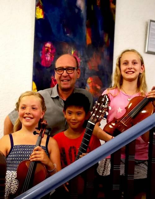Erfolgreiche Musikschueler beim Landeswettbewerb