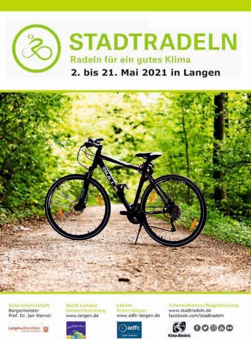 Plakat Stadtradeln 2021