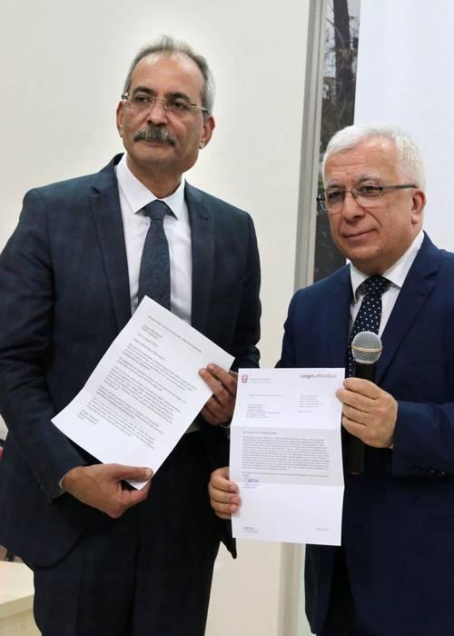Dr Haluk Bozdogan u Mehmet Canbolat in Tarsus