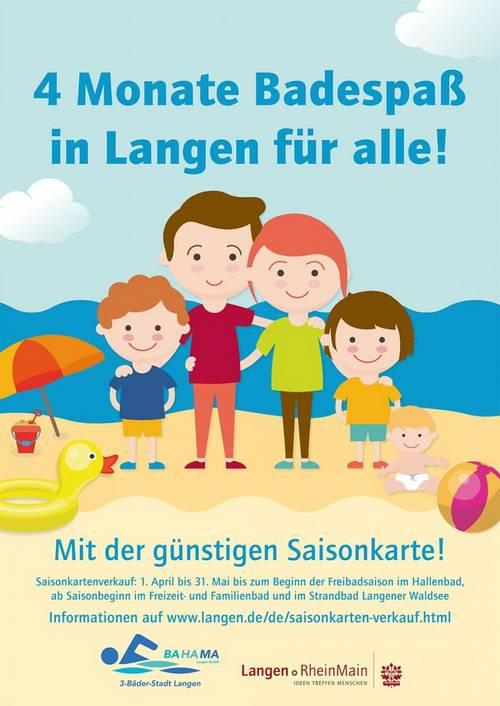 Plakat Saisonkarten