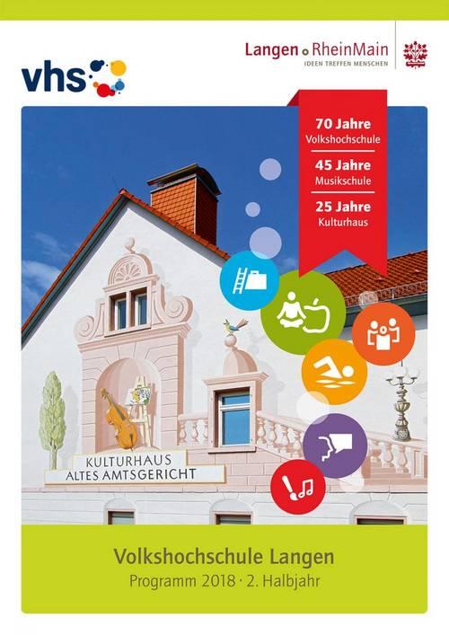 Volkshochschule Titelseite Proramm 2-2018