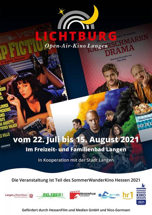 Open Air Kino Sommer 2021 Freibad
