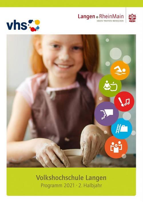 Deckblatt vhs-Programm 2-2021