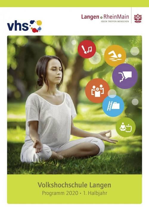 Deckblatt vhs-Programm 1-2020