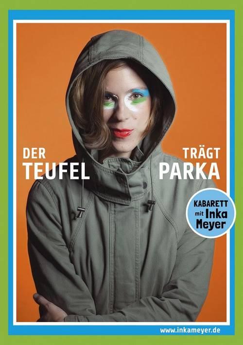 Plakat Kabarett Inka Meyer