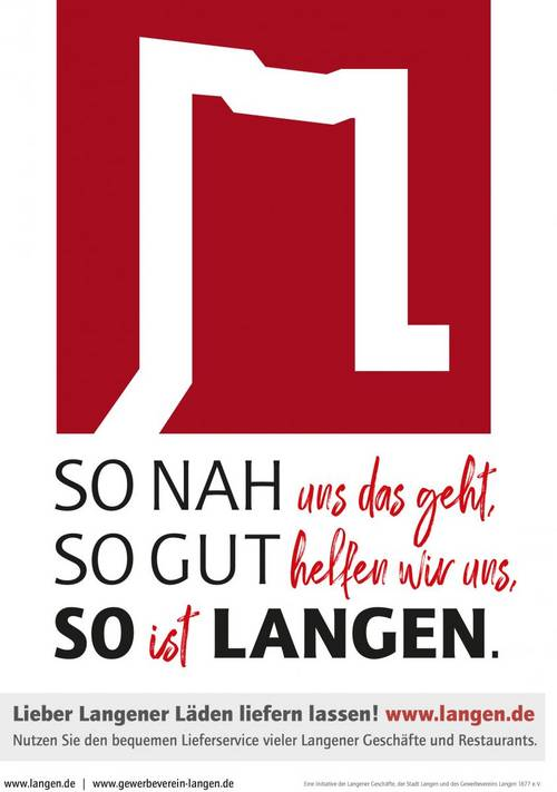 Plakat SoSoSo - ist Langen